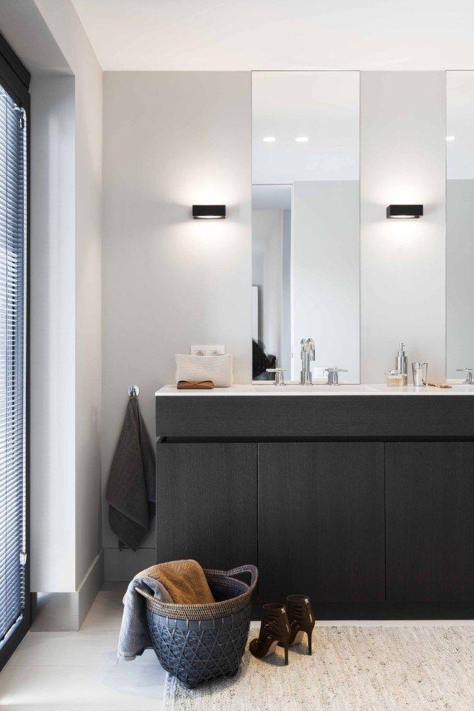 Fliesen, Dekoration, Konsole, Wanne, Badezimmer, Ideen, Zeitgenössische  Badezimmer, Badezimmer