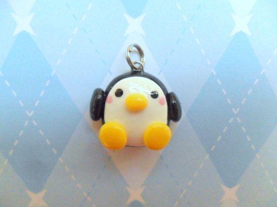 Cute Polymer Clay Charms   Kawaii Charm Penguin Polymer Clay Cute Jewelry ...   Crafts&&DIY Proj ...