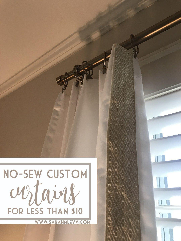 Easy Diy Curtains For Less Than 10 Custom Look Ballard Designs