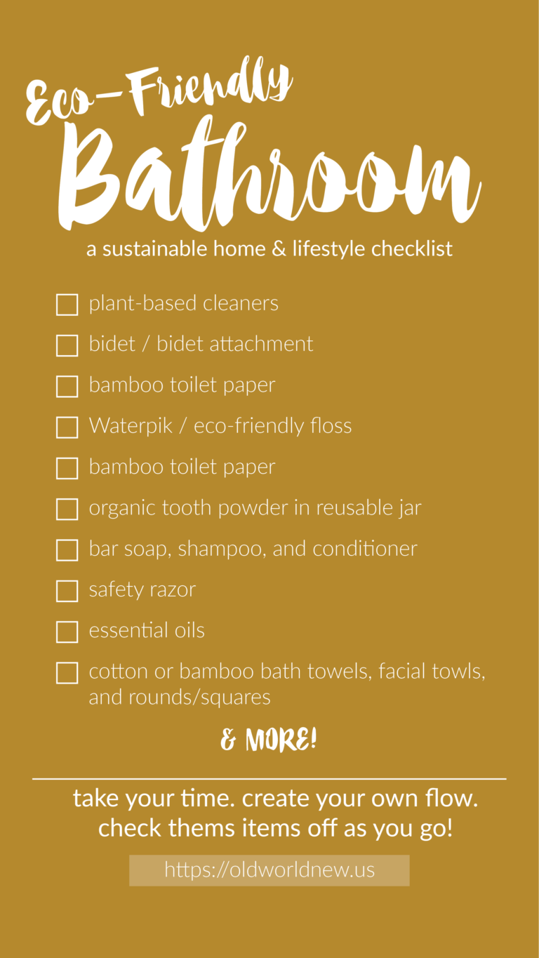 EcoFriendly Home Checklists — Old World New is part of Eco friendly house - Room by room checklists to create an ecofriendly home, one room and item at a time  Go as slow as you need to go to make a sustainable change