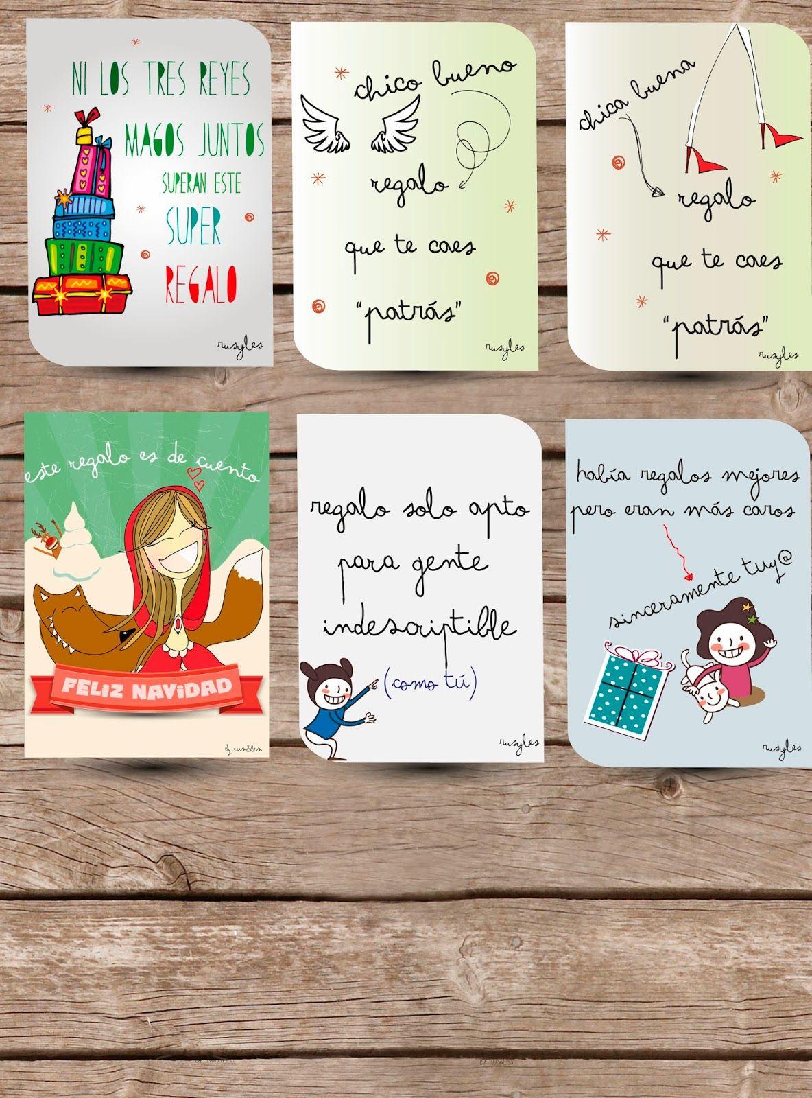 Etiquetas de regalos personalizadas. visita nuestra web rusyles.wix.com/rusyles