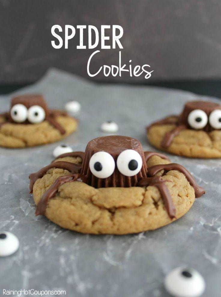 Spooky Spider Cookies Spider cookies, Spider and Holidays