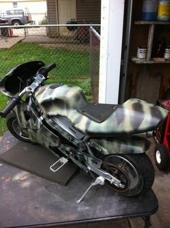 gas pocket rocket camo pocket rocket bike 49cc gas. Black Bedroom Furniture Sets. Home Design Ideas
