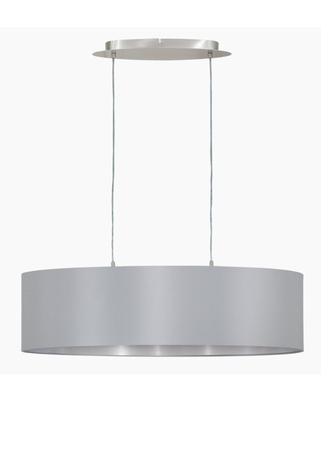 Eglo maserlo 2 light ceiling light grey ceiling lights ceilings eglo maserlo 2 light ceiling light contemporary pendant lightspendant arubaitofo Gallery