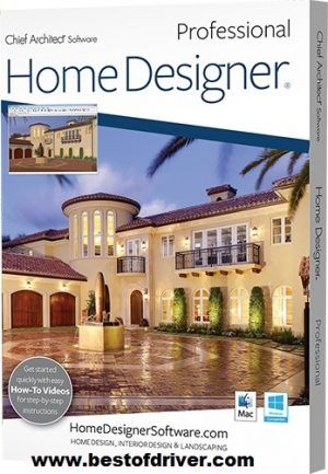 Home Designer Pro 2018 Crack + Key Free Download (Win & Mac) is software