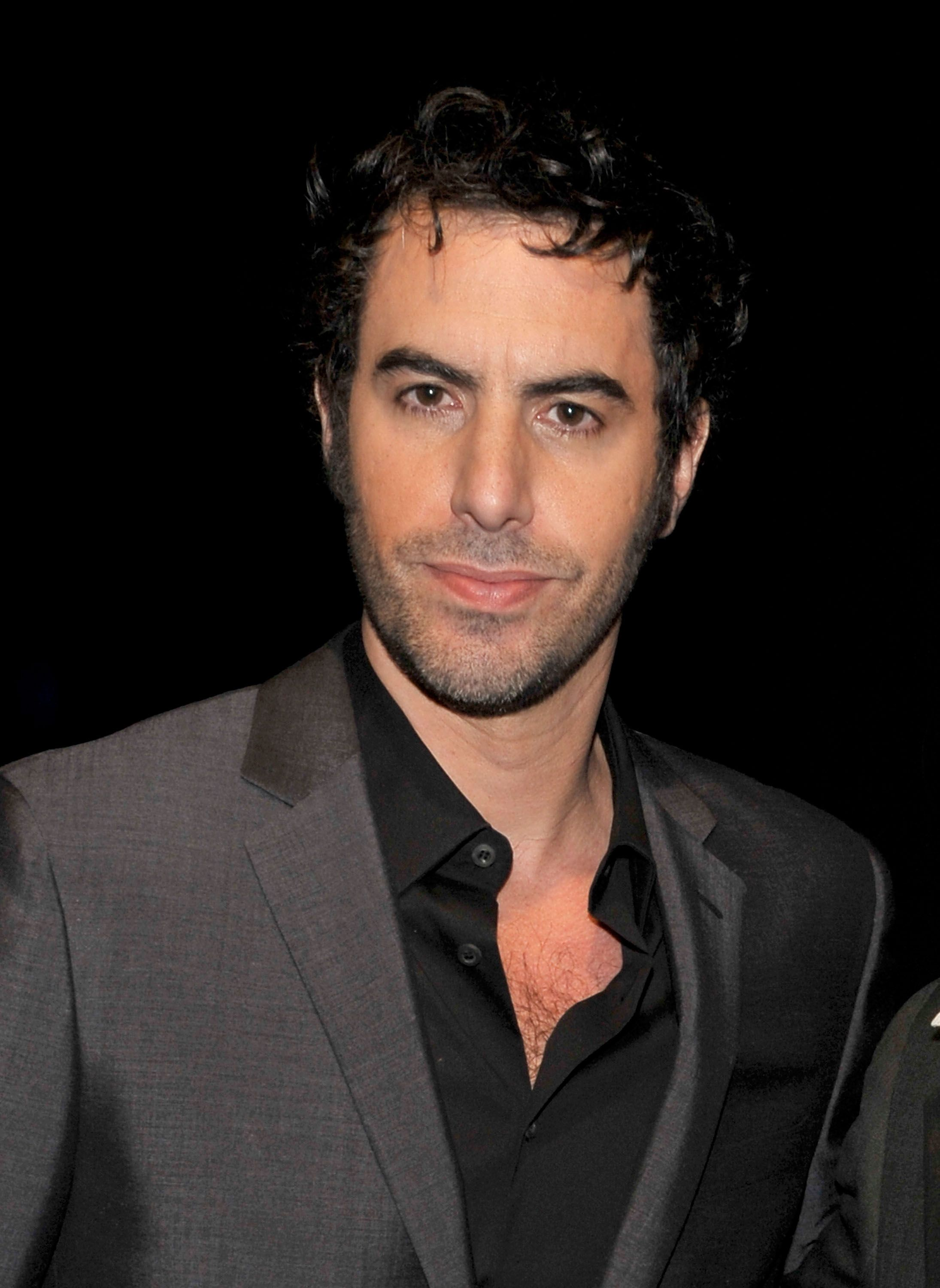 Sacha Baron Cohen. Underneath those ridiculous characters is a very handsome man.