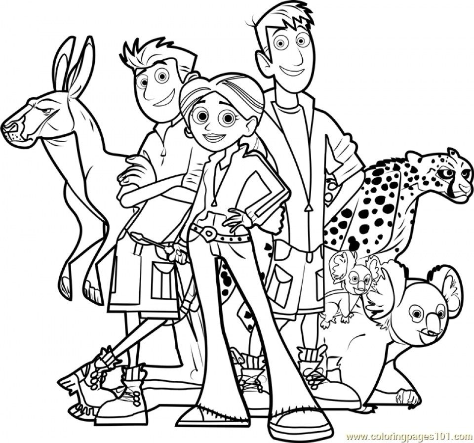 24 Brilliant Image Of Color Pages Online Davemelillo Com Wild Kratts Coloring Pages Wild Kratts Birthday Wild Kratts Birthday Party