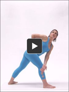 Get the benefits of a dynamic Warrior series without the strain in this pain-free flow sequence.