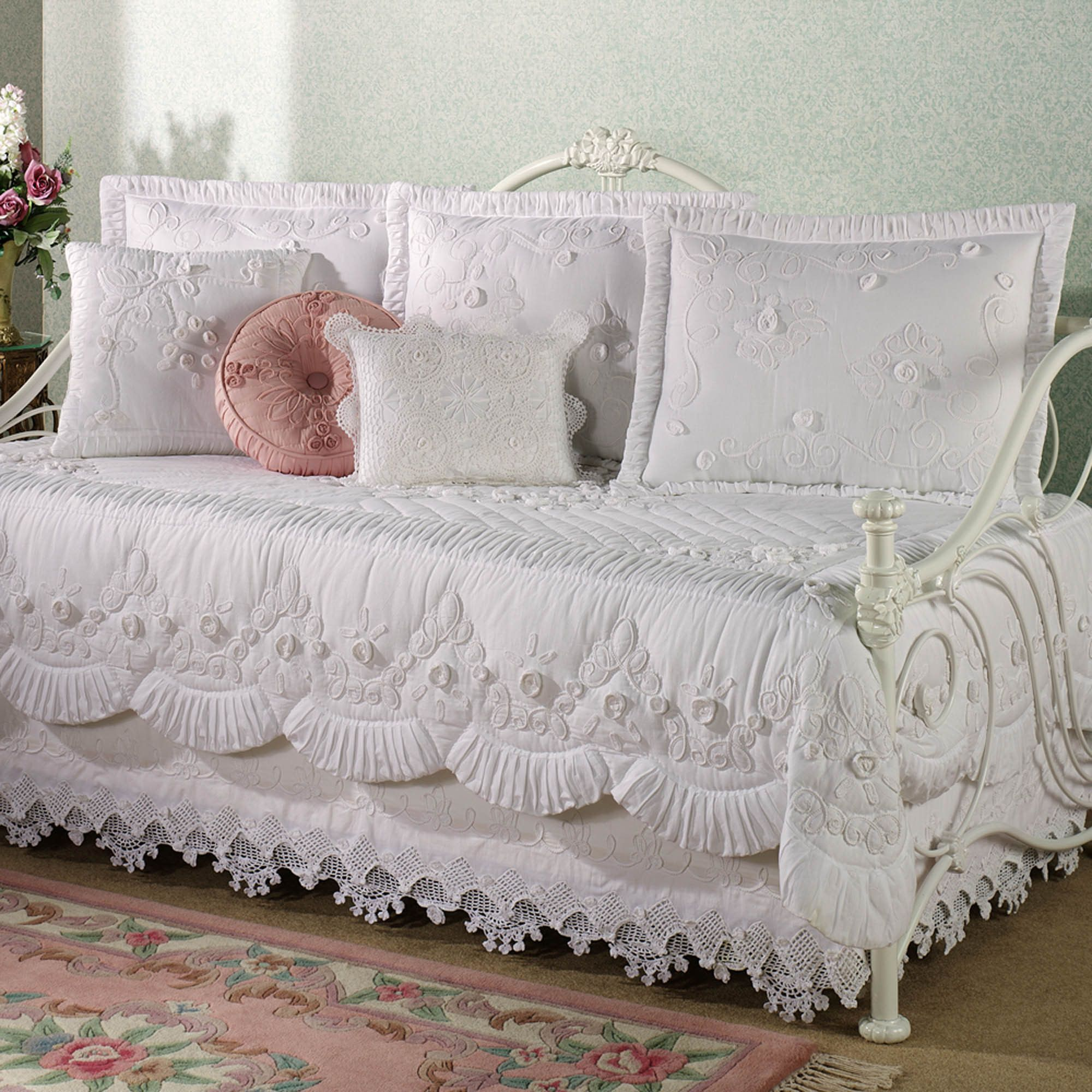 Tranquil Garden Daybed Cover Bedding Victorian Pinterest