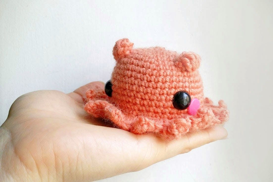 Amigurumi Easy Crochet Patterns : Amigurumi octopus free pattern adorabilis easy patterns