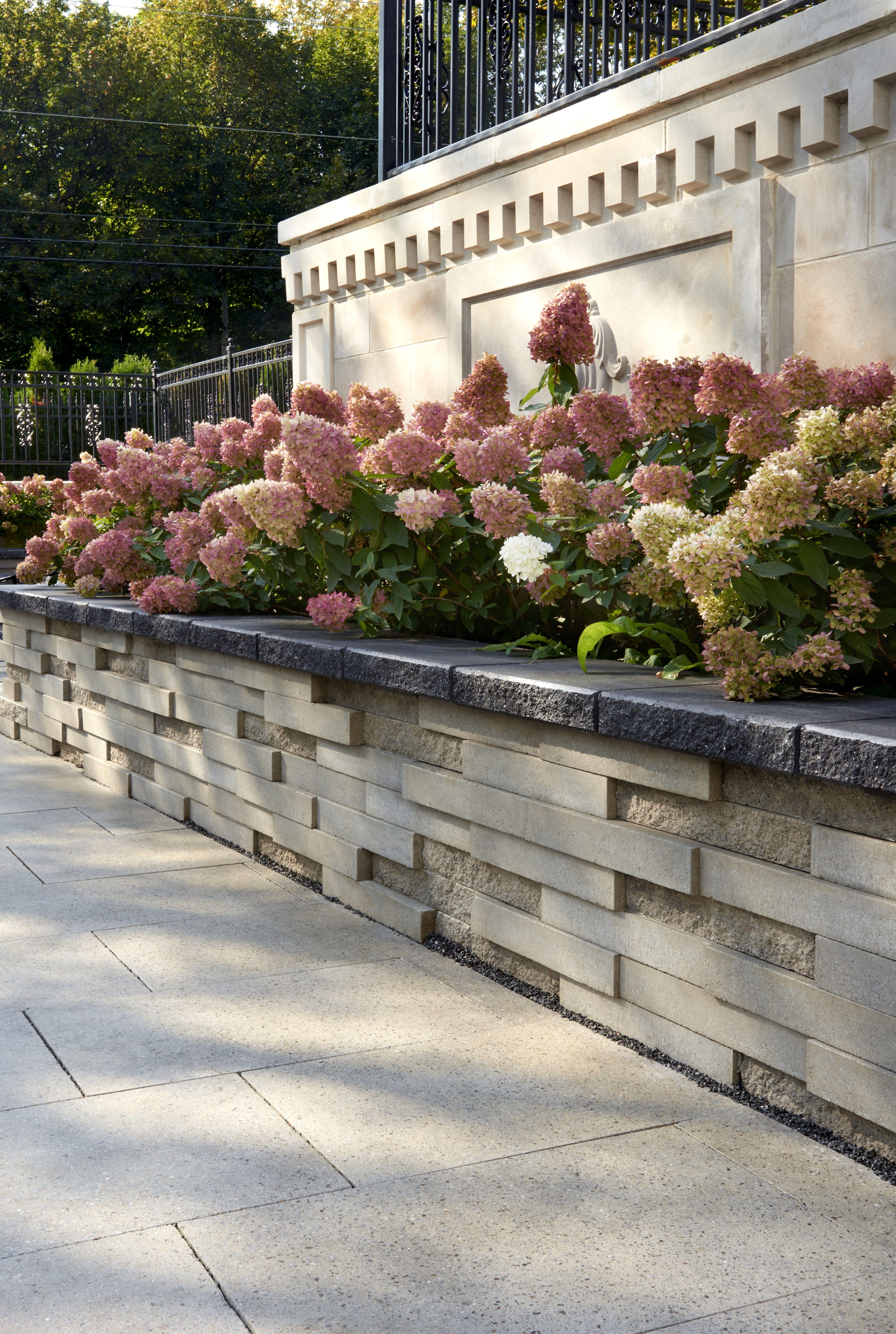 Retaining Wall Ideas Landscaping Retaining Walls Retaining Wall Design Backyard Retaining Walls Modern garden retaining wall ideas