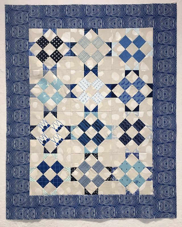 Union Square ~ A Finished Quilt