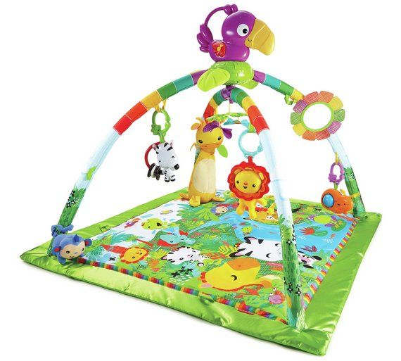 Buy Fisher Price Rainforest Music Lights Deluxe Gym At Argos