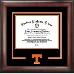 Tennessee Volunteers Vols UT Matted Diploma with Mahogany Frame