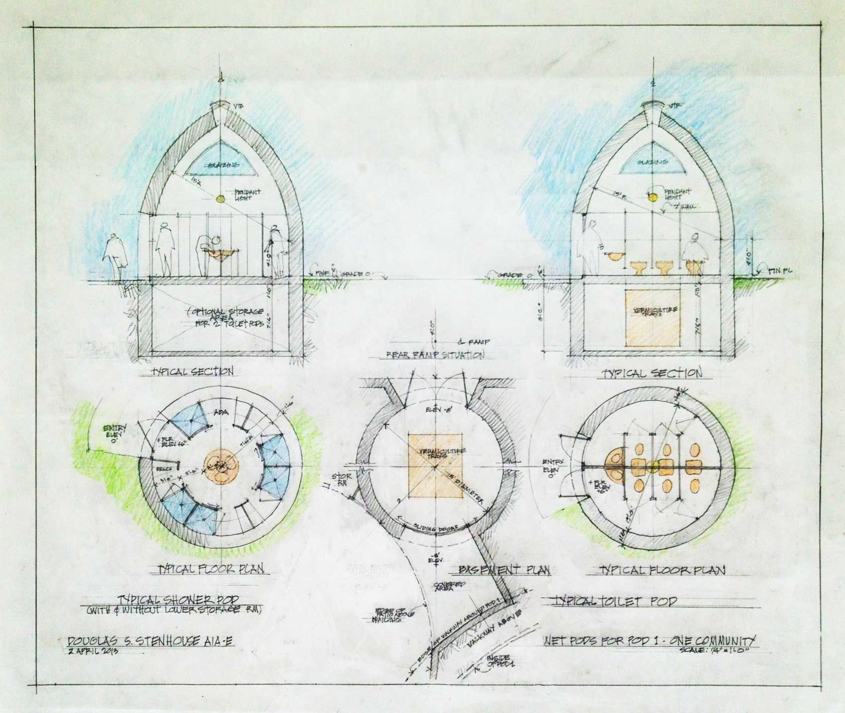 Basic Dome Home S Interior Plans: Open Source DIY Eco-toilets And Showers For Personal And