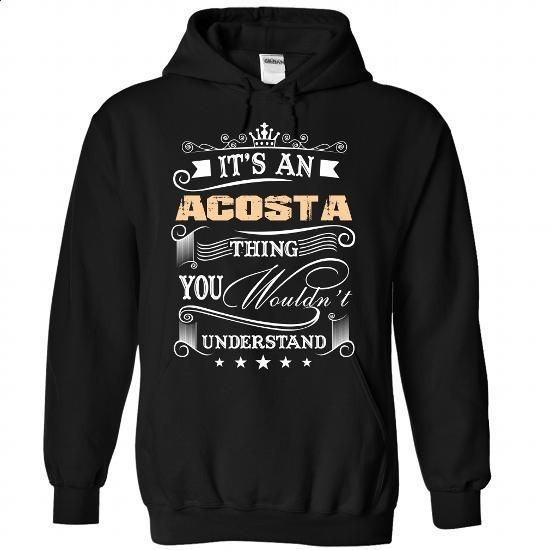 ACOSTA - #cashmere sweater #sweater fashion. MORE INFO => https://www.sunfrog.com/Movies/ACOSTA-7377-Black-Hoodie.html?68278