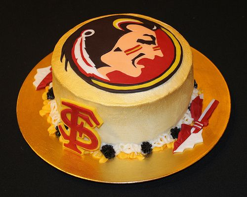 Florida State Seminoles Groom S Cake With Images Grooms Cake