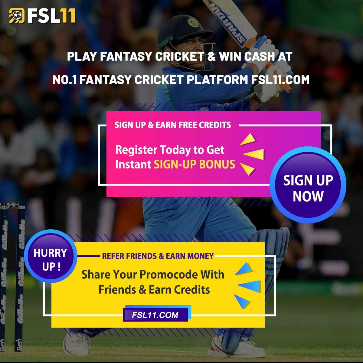 Register Yourself at to Play