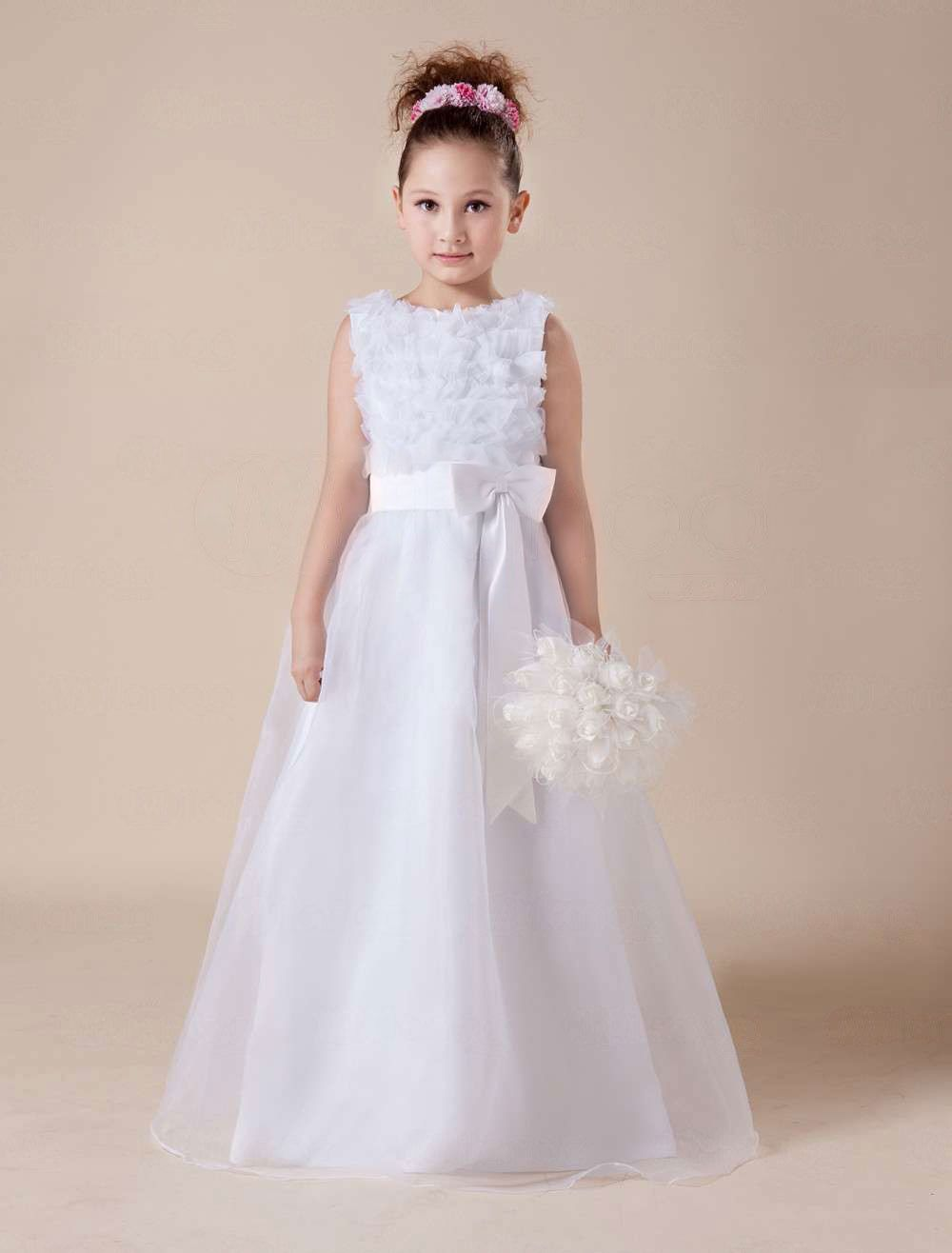 Cute white soft tulle flower girl dress party dresses party cute white soft tulle flower girl dress party dresses mightylinksfo Images