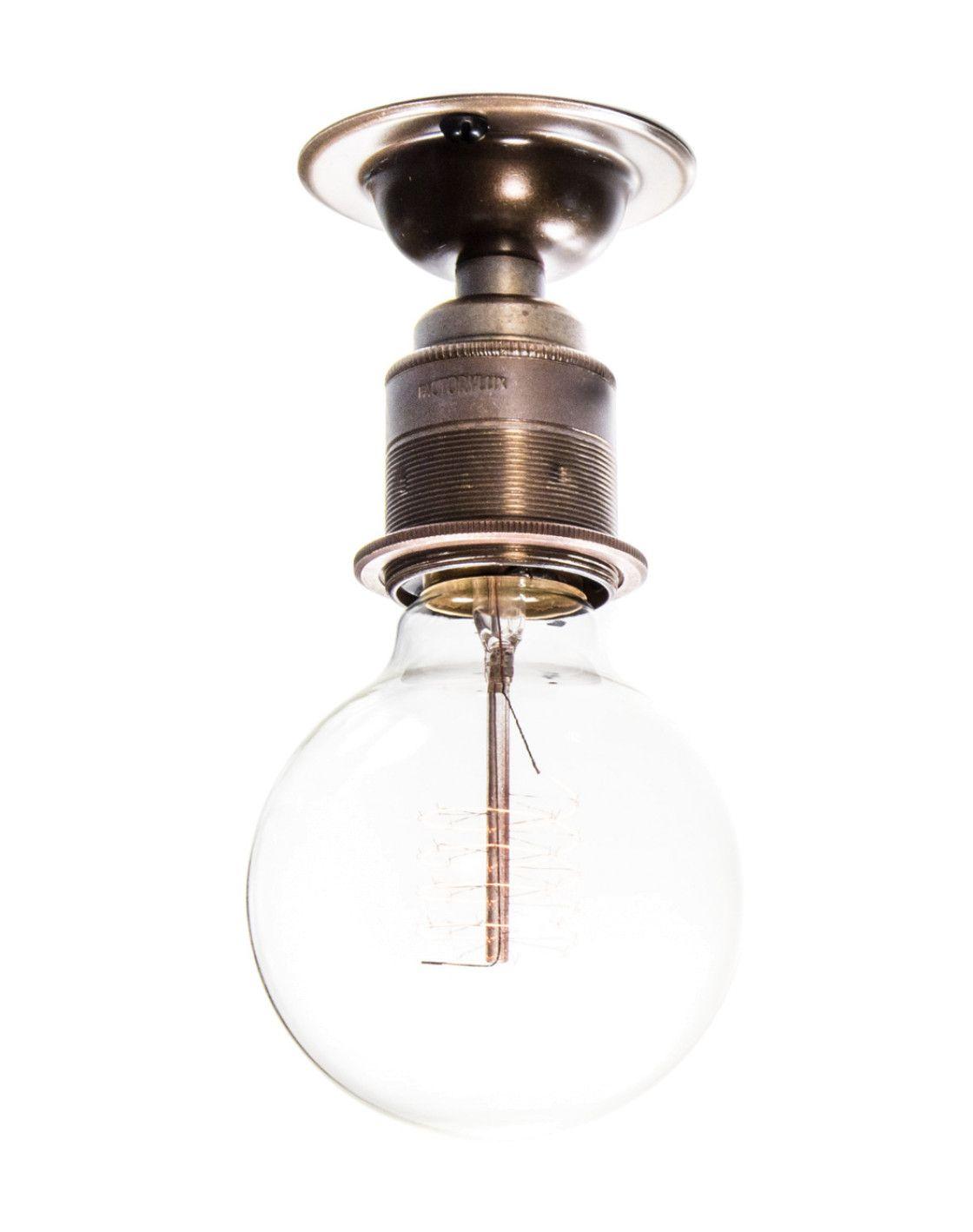 Maria Small Factory Light Brass Factory Lighting Vintage Ceiling Lights Ceiling Lights Uk
