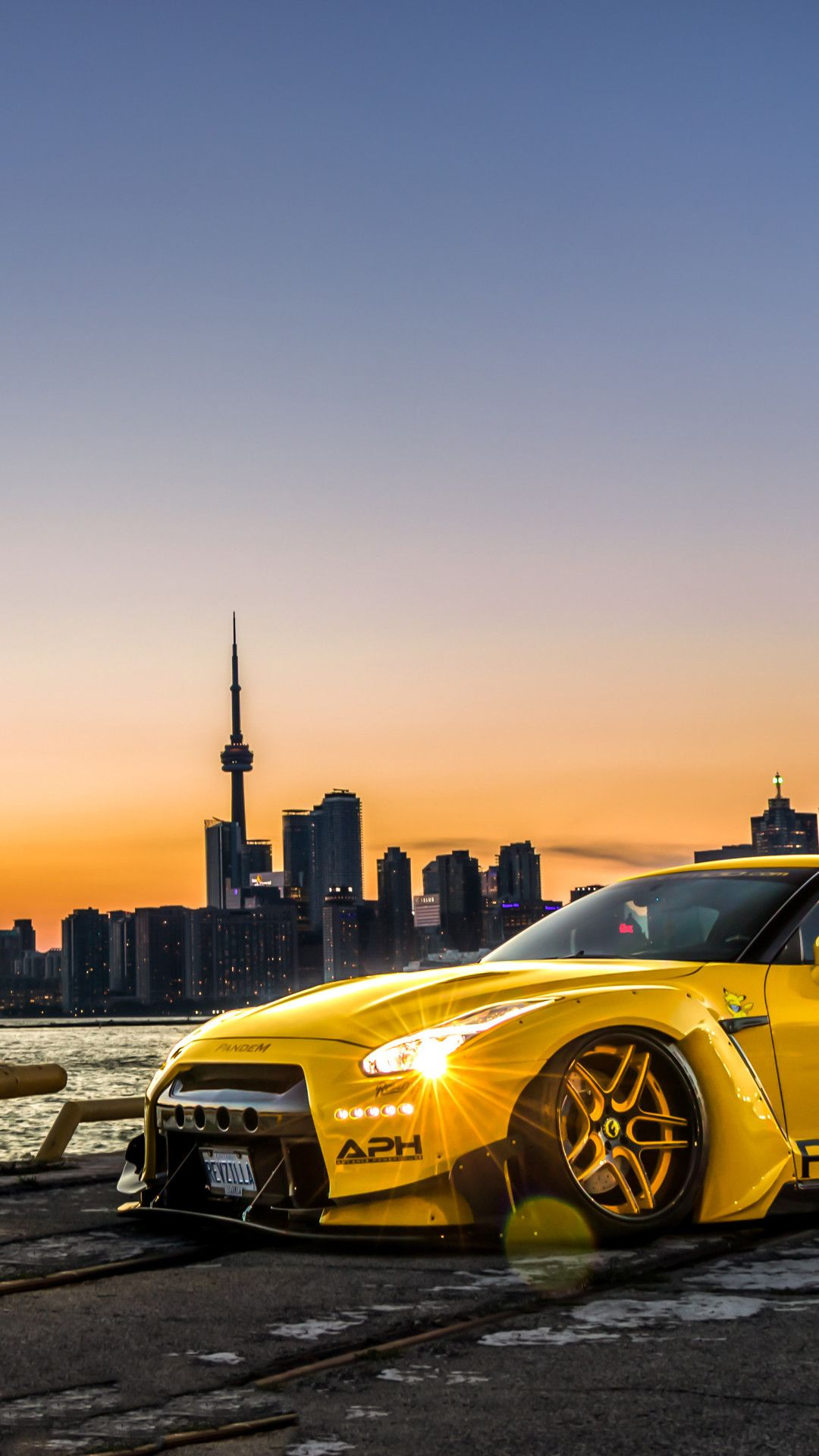 Nissan GTR Canada 5k Mobile Wallpaper (iPhone, Android