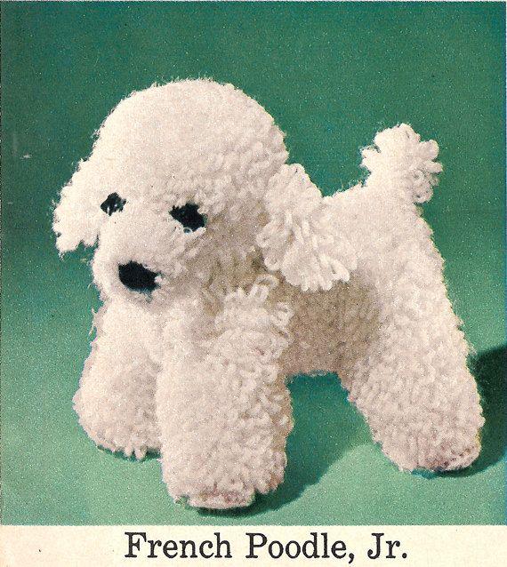 Häkelanleitungen Sie Hund-aus den 50er Jahren von wanderlustlounge ...