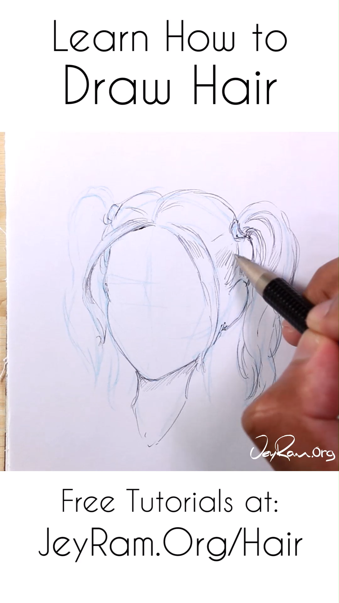 Photo of How to Draw Hair: Step by Step Tutorials for Beginners