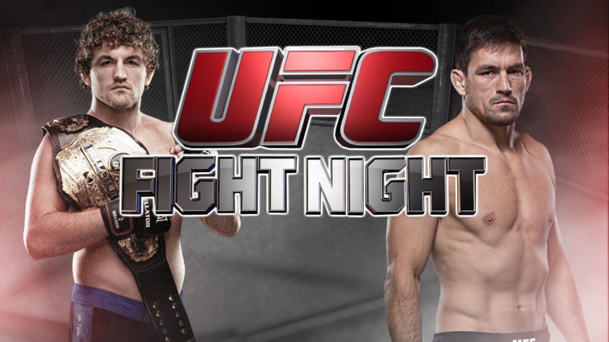 Ufc Fight Night 162 Main Event Askren V Maia Live At Shamrock 7pm Tonight Will Askren Bend The Knee To Maia