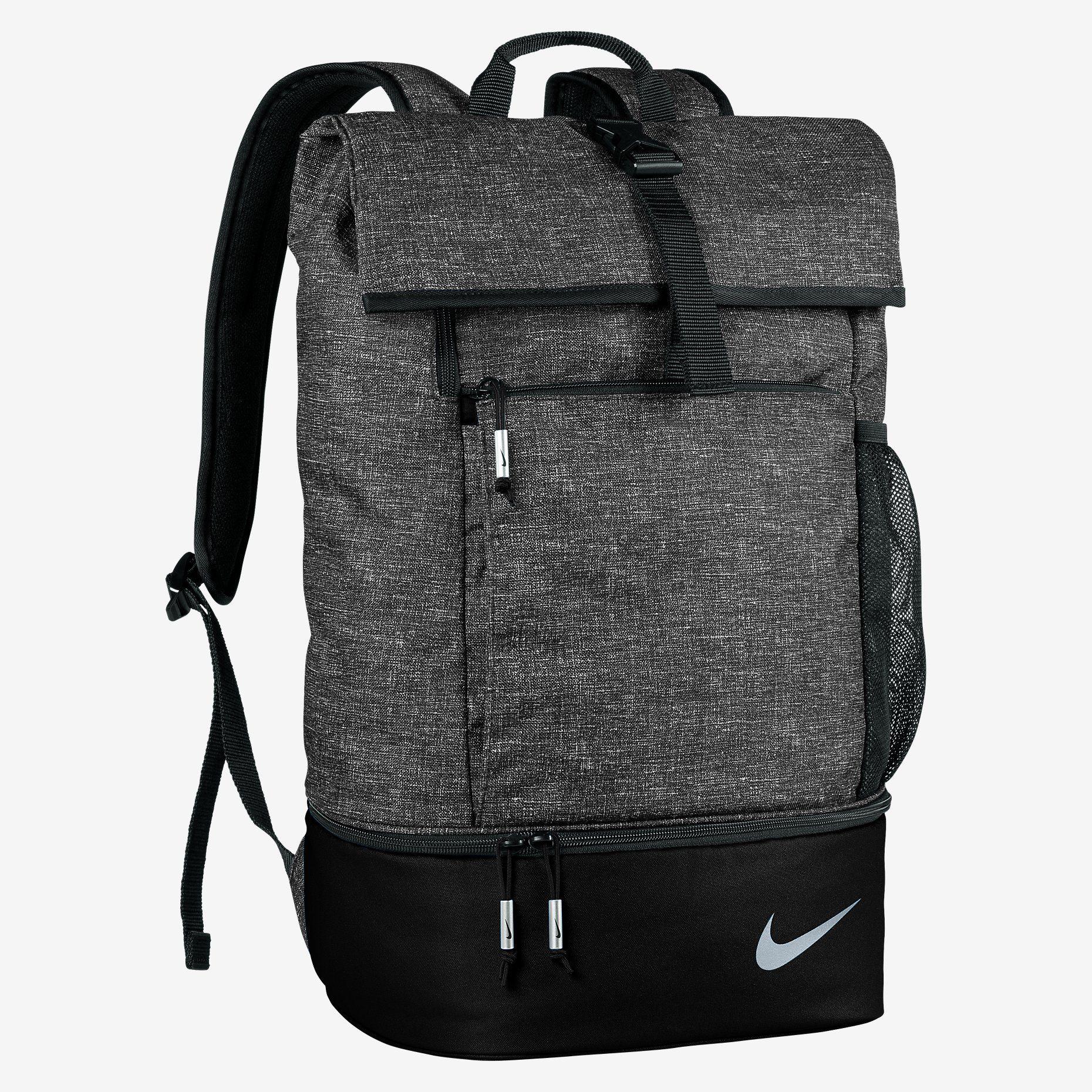 1553e2632406 Black Mesh Backpack Nike- Fenix Toulouse Handball
