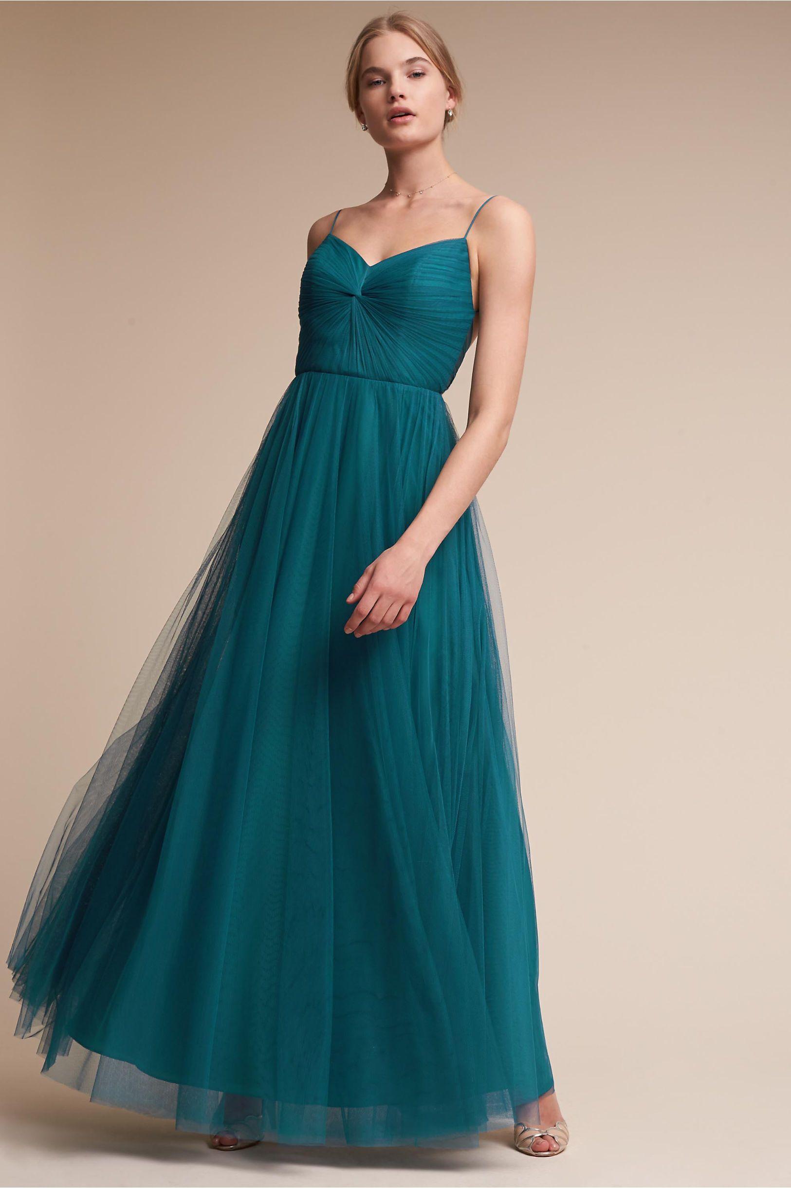 BHLDN Tinsley Dress French Blue in Bridal Party | BHLDN | Bridesmaid ...