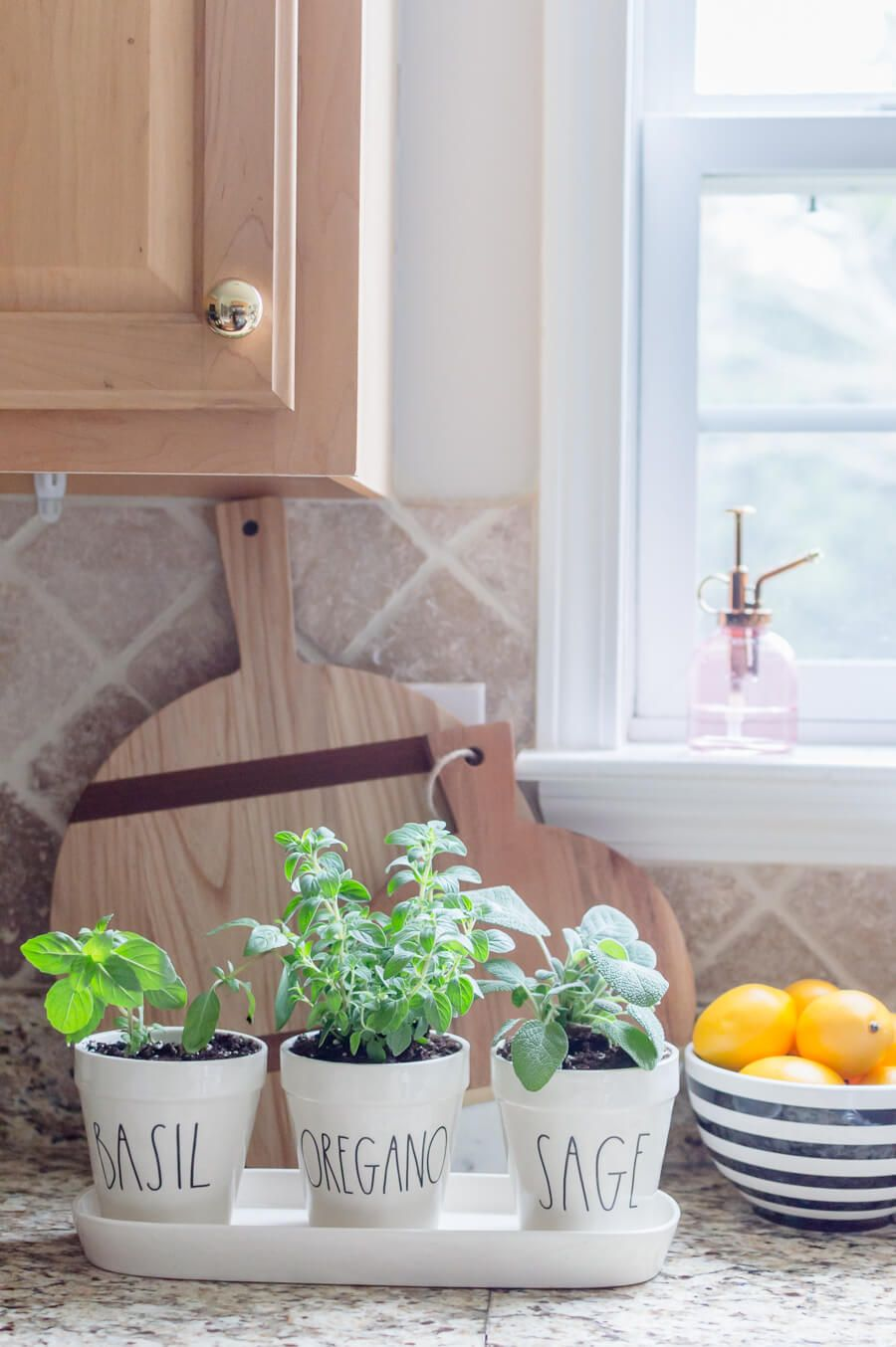 Easy DIY Kitchen Herb Garden Herb garden in kitchen