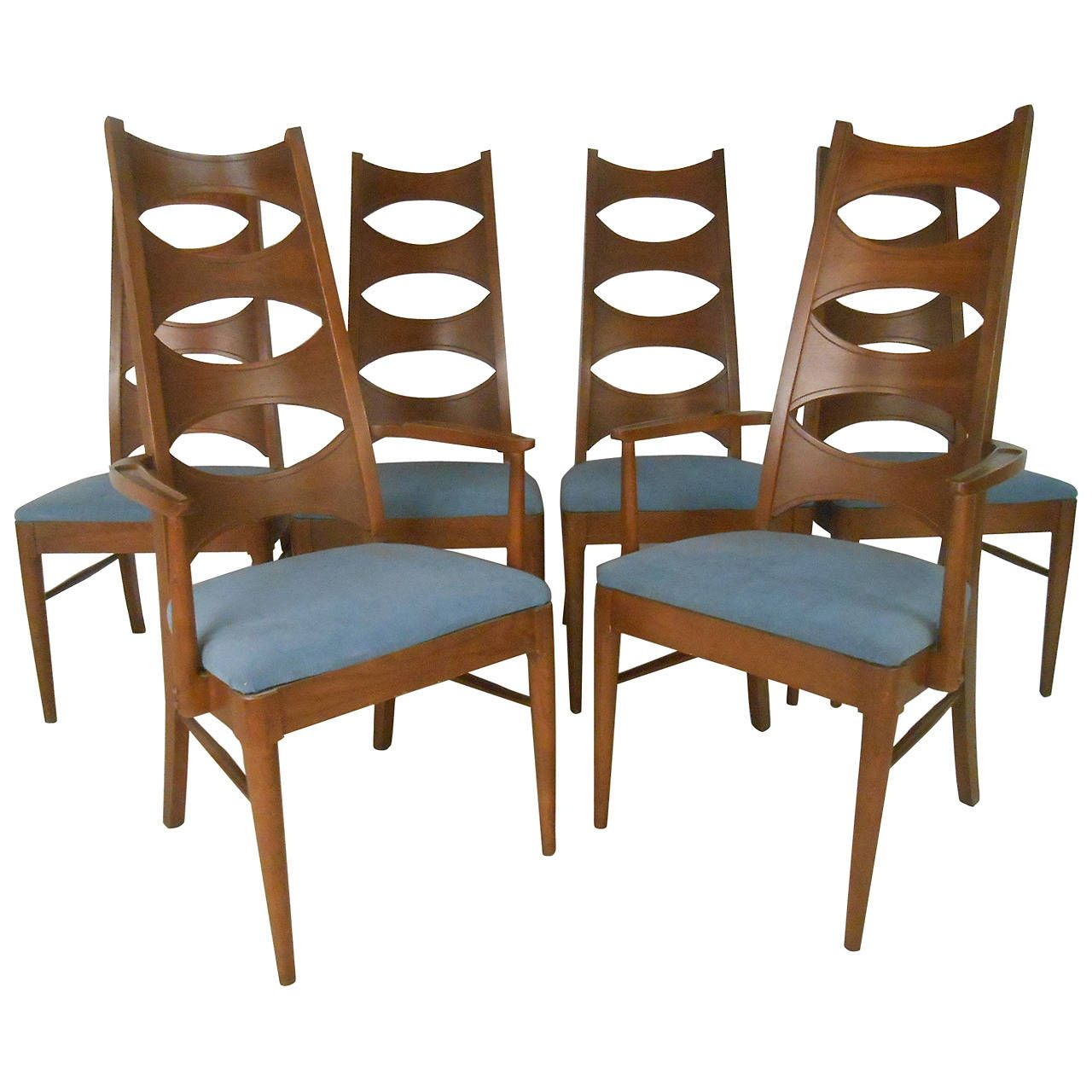 Love These Chairs Ms Set Of Mid Century Modern Cat Eye Dining By