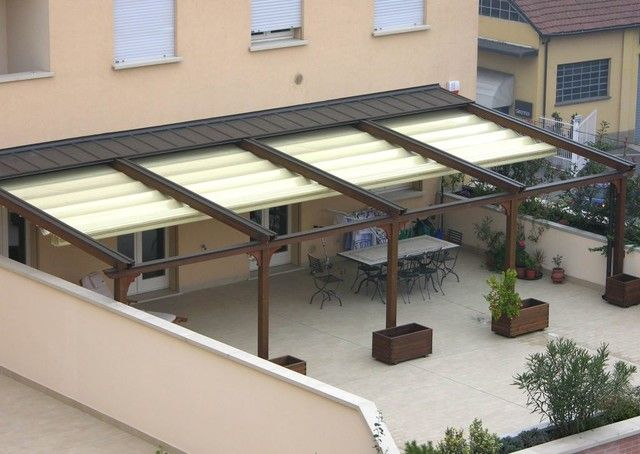 Wonderful Beautiful Retractable Patio Roof