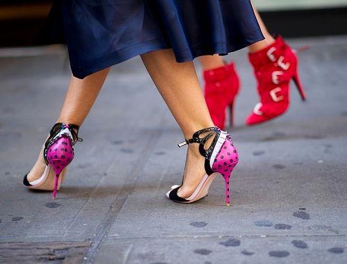 Jak Przetrwac Noc W Obcasach Fashyou Pl Sophia Webster Heels Street Style Shoes Heels