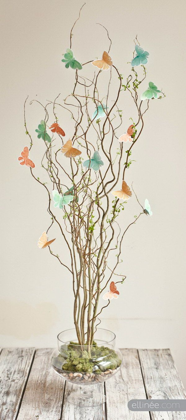 30 Beautiful DIYs for Your Spring Decoration   Butterfly ...