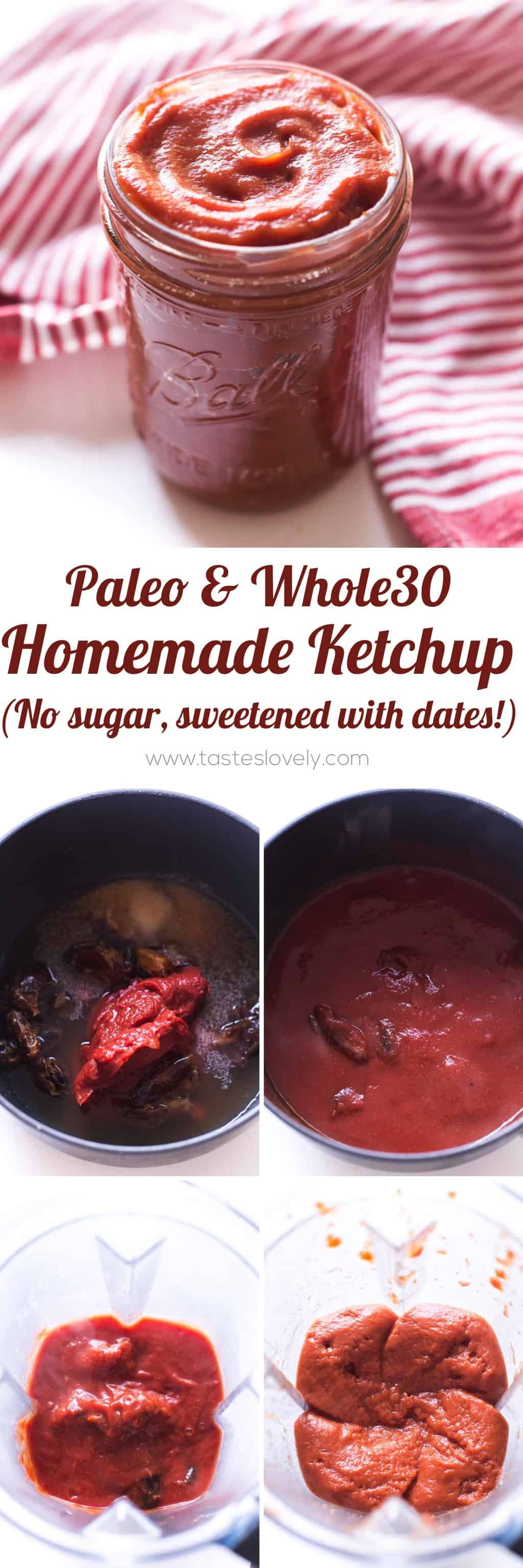 Easy whole30 and paleo ketchup a homemade tessemaes