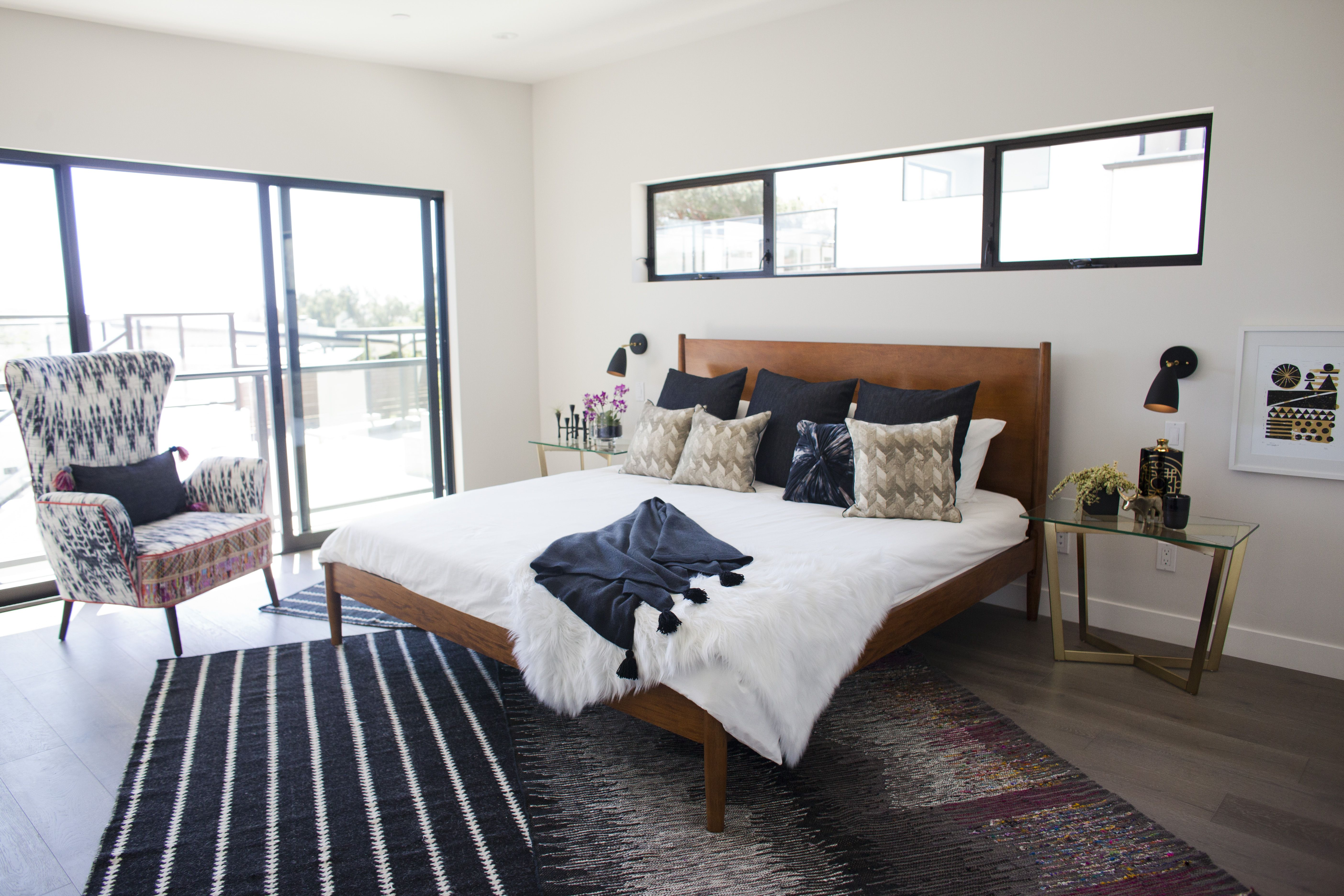 black walnut  bedroom  contemporary bedroom furniture