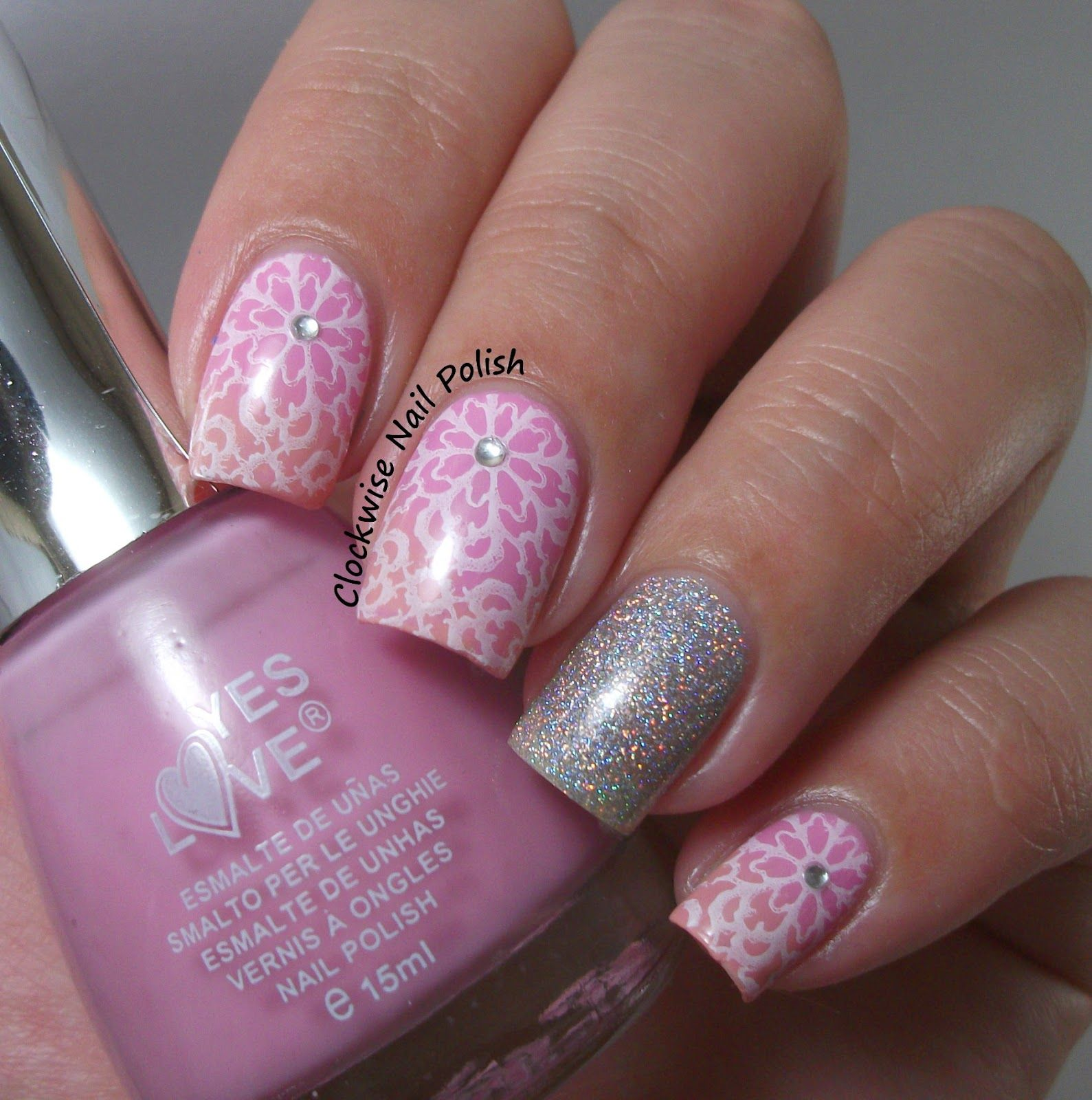 The Clockwise Nail Polish: Born Pretty Store QA92 Plate Review & Yes ...