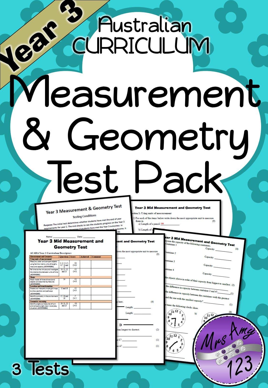 Mathematics Assessment Year 1 Australian Curriculum   Australian ...