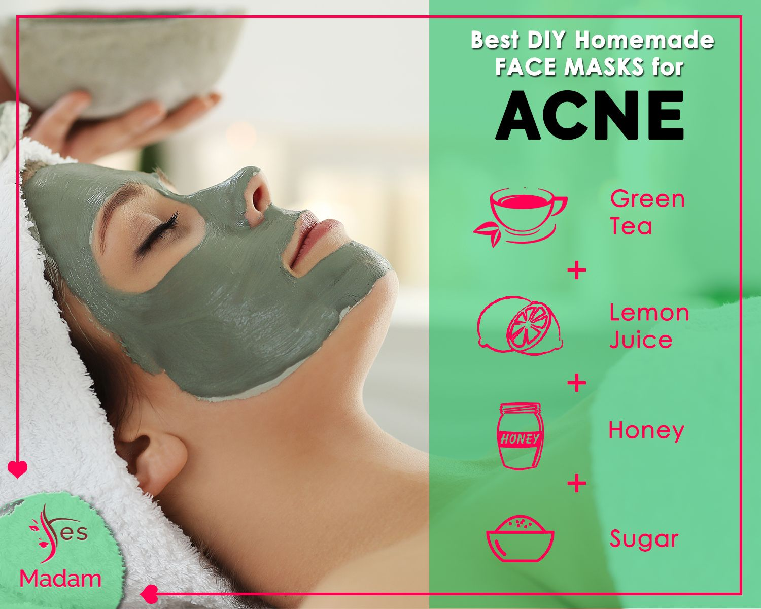 Best DIY Homemade FaceMask for Acne Mix all the