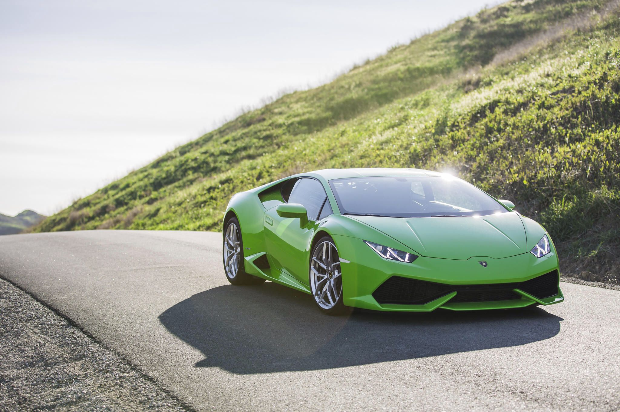 Lamborghini Huracan LP 610-4 First Test Gallery via MOTOR TREND News iPhone App