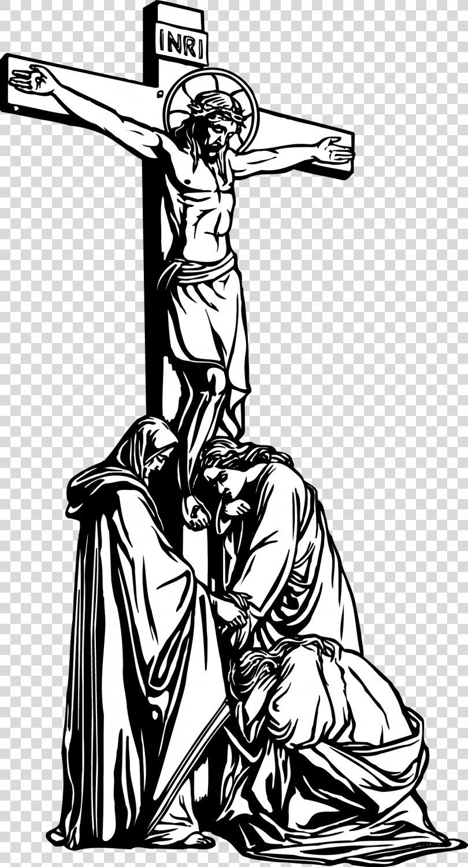 Nativity Of Jesus Depiction Of Jesus Vector Cross Jesus Material Png Nativity Of Jesus Art Black Black A Jesus Tattoo Design Jesus Drawings Cross Drawing