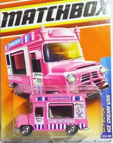 Matchbox Ice Cream Van City Action Pink By Matchbox. $17.77. MATCHBOX ICE  CREAM VAN