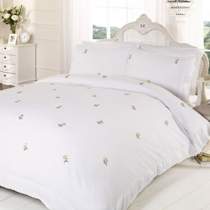 Duvet Cover Alicia Broderie Anglaise Lace Sets