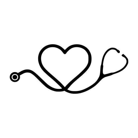 45+ Black And White Stethoscope Clipart