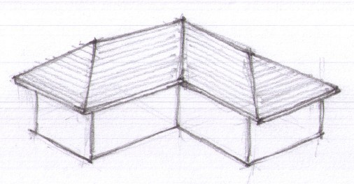 Cross Gable Roof Design Google Search In 2020 Hip Roof Gable Roof Design Roof Design