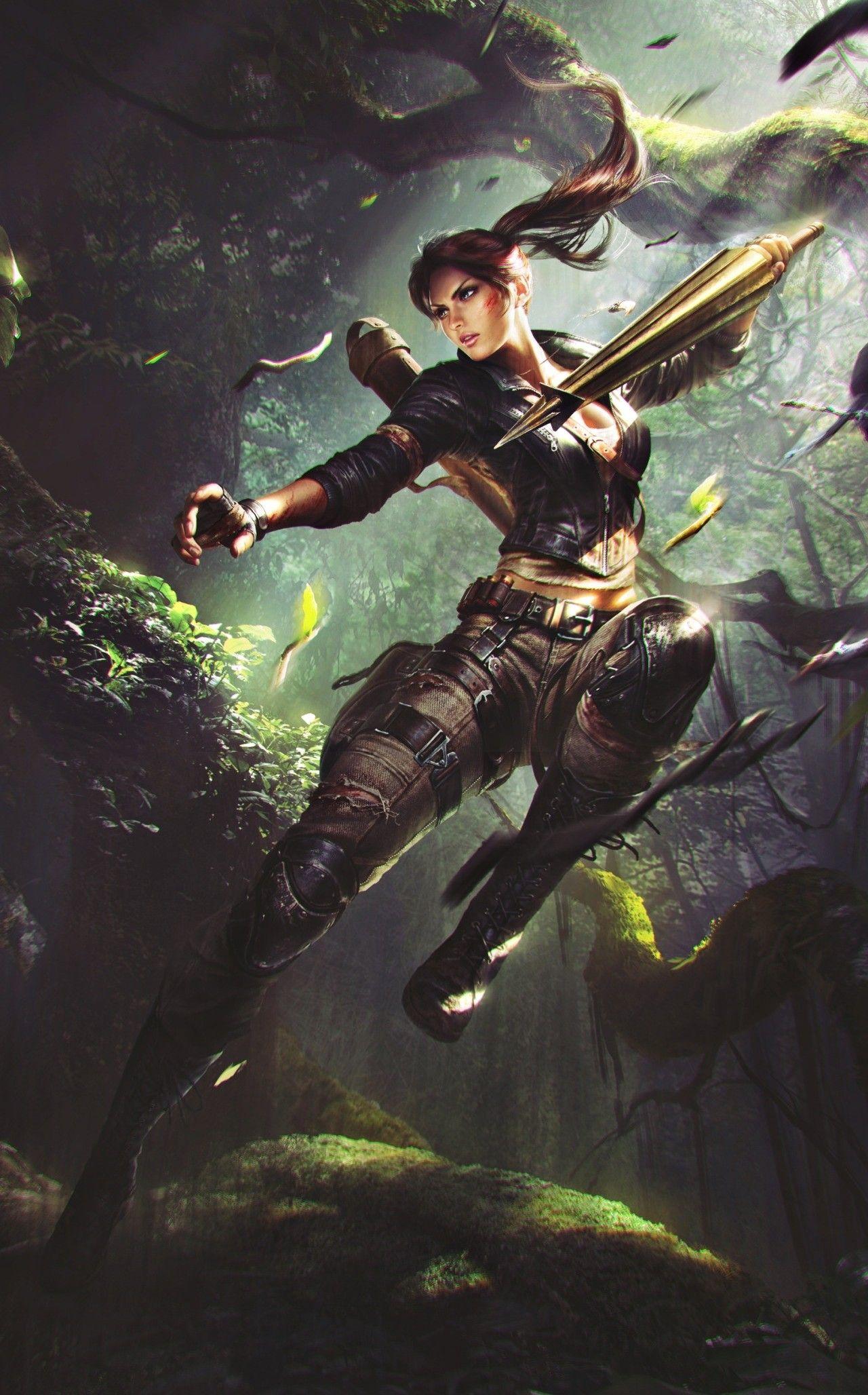 Tomb Raider Stuff! - Deiv Calviz - Illustrations, Concept