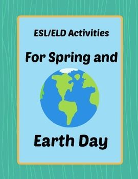 Earth Day ESL  Earth day Activities and Places