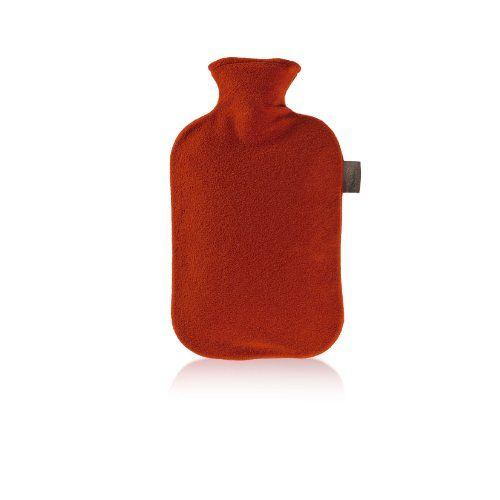 Fashy 6530 Wärmflasche mit Vliesbezug 2 L, Farbe kirschrot | Your #1 Source for Health & Personal Care Products