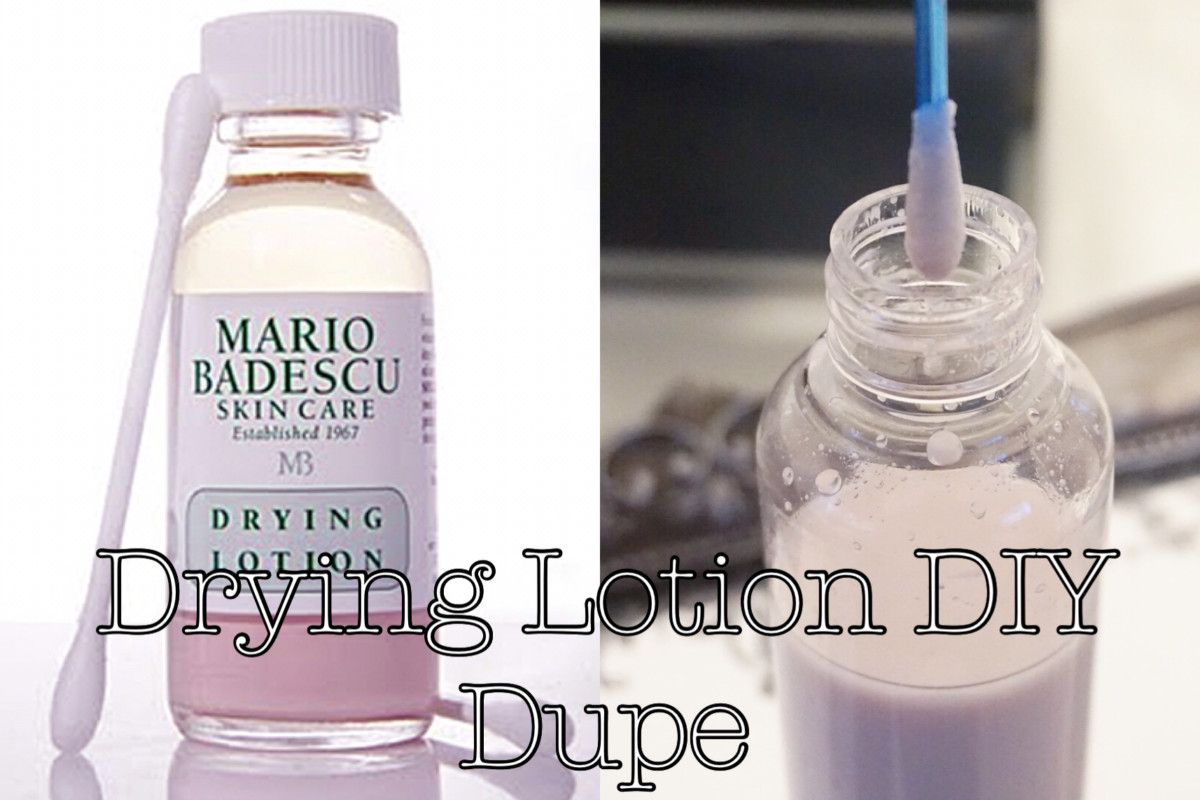 Diy Mario Badescu Drying Lotion Lotion For Dry Skin